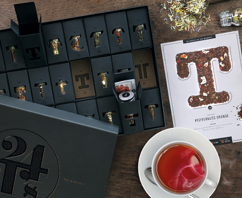 Weihnachtskalender Tee.Adventskalender Mit Tee Für Geschäftspartner Und Kunden Mein Genuss