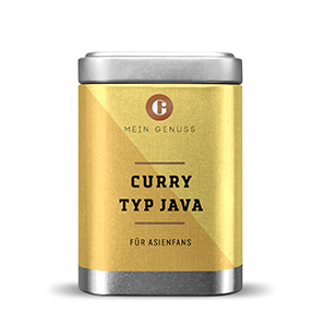 Curry Pulver Typ Java