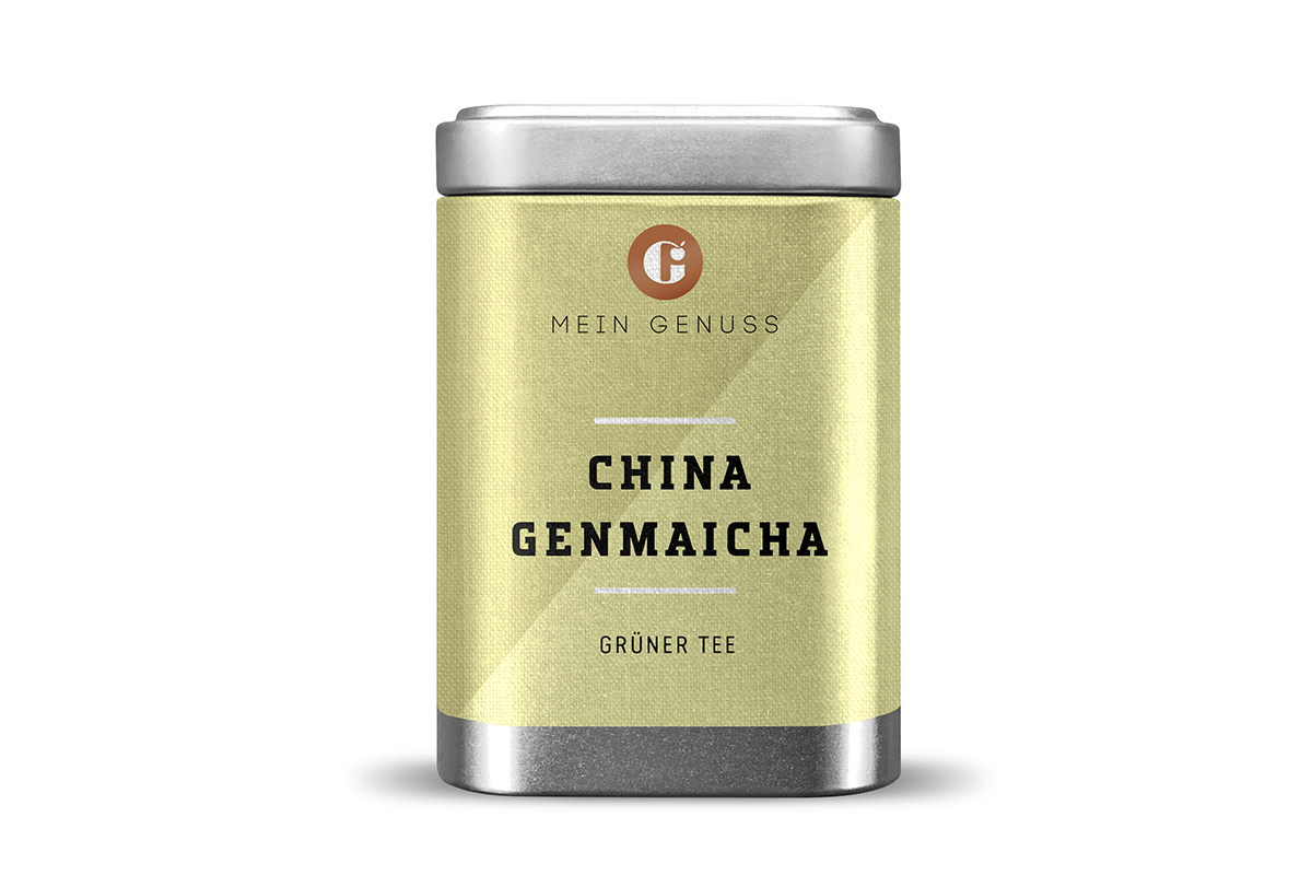 China Genmaicha Grüntee